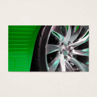 Tires and Rims Business Card