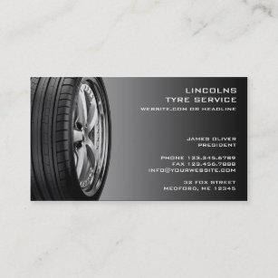Tire business cards zazzle tires auto repair business card colourmoves