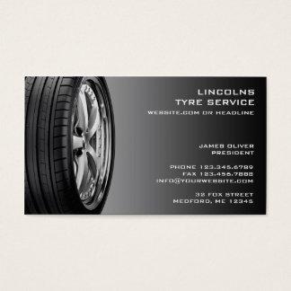 Tires Auto Repair Business Card