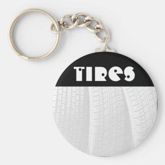 Tires Keychain