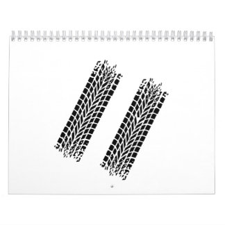 Tires skidmark calendar