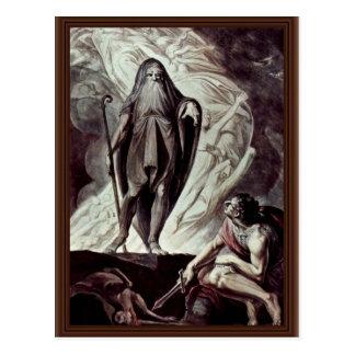 Tiresias aparece a Ulises durante sacrificar Postales
