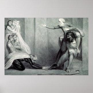 Tiriel, llevado de nuevo al palacio póster