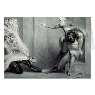 Tiriel, llevado de nuevo al palacio tarjeta de felicitación