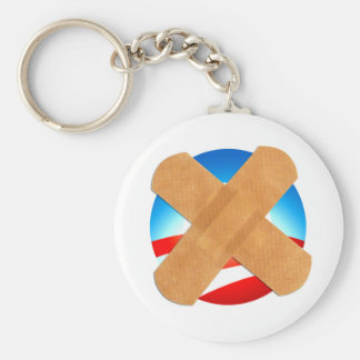 Tirita no a Obamascare Llaveros