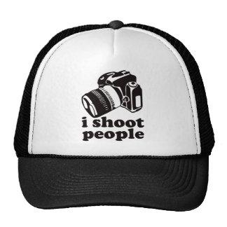 ¡Tiro a gente! Gorras De Camionero