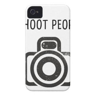 Tiro a la gente - cámara funda para iPhone 4 de Case-Mate