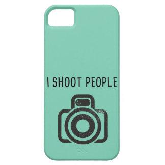 Tiro a la gente - cámara funda para iPhone SE/5/5s