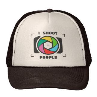 Tiro a la gente - diversión colorida del obturador gorras de camionero