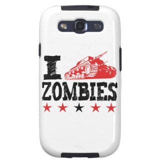 Tiro a los zombis que usan el tanque galaxy SIII cárcasas