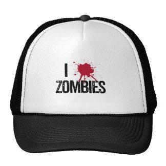 Tiro a zombis gorras de camionero