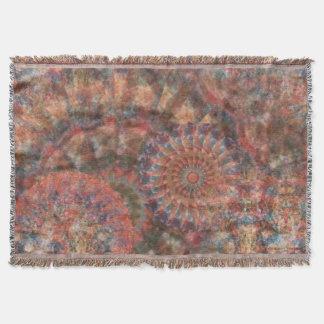 Tiro abstracto tallado de la decoración de las manta