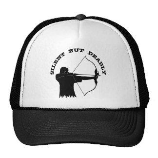 Tiro al arco de la caza del arco silencioso pero m gorras