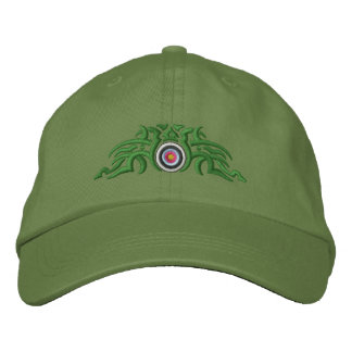 Tiro al arco tribal gorras bordadas