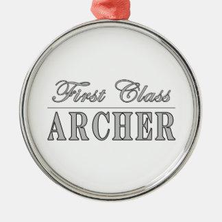 Tiro al arco y Archers: Primera clase Archer Adornos De Navidad