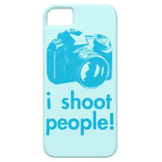 tiro al fotógrafo de la fotografía de la gente funda para iPhone SE/5/5s