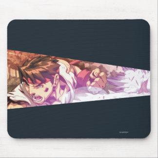 Tiro ancho de la acción de Ryu Mousepad