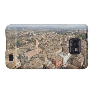 Tiro ancho de la ciudad de la colina de Siena, Ita Samsung Galaxy SII Carcasa