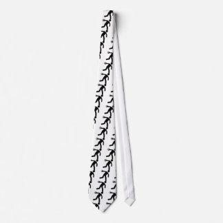 Tiro de disco corbata personalizada