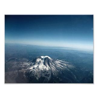 Tiro de la antena del Mt. Adams Fotografía