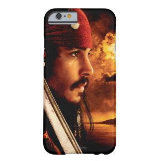 Tiro de la cara lateral de Jack Sparrow Funda De iPhone 6 Barely There