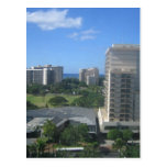 Tiro de la ciudad de Honolulu, Hawaii Tarjetas Postales