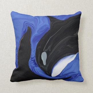 Tiro de la graduación de la orca almohadas