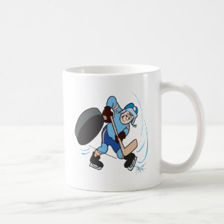 Tiro de palmada tazas de café
