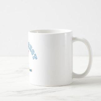 Tiro de palmada taza básica blanca