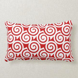 Tiro decorativo Pillow del modelo del remolino de Almohadas