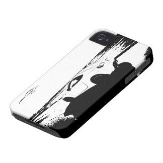Tiro del balanceo de FR-S iPhone 4 Case-Mate Fundas