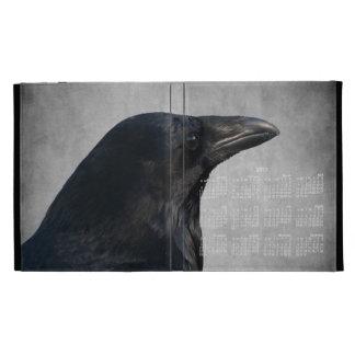Tiro del encanto del cuervo Calendario 2013