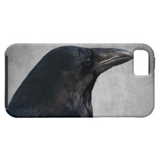 Tiro del encanto del cuervo funda para iPhone SE/5/5s