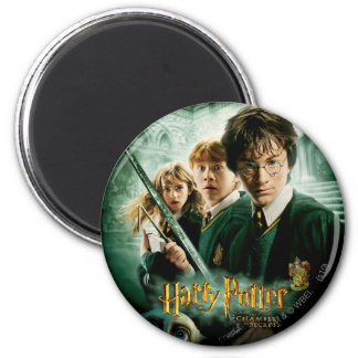 Tiro del grupo del Dobby de Harry Potter Ron Hermi Imán Redondo 5 Cm