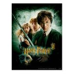 Tiro del grupo del Dobby de Harry Potter Ron Hermi Postal