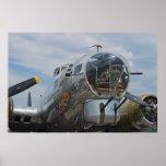Tiro delantero B-17G SuperFortress del artillero Impresiones