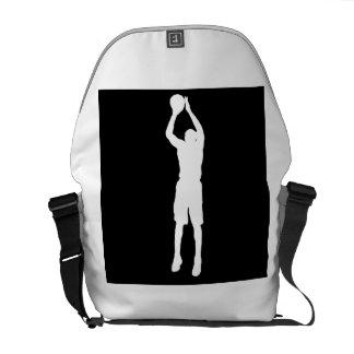 Tiro en suspensión del baloncesto
