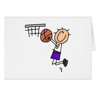 Tiro en suspensión del baloncesto - camisetas y re felicitacion
