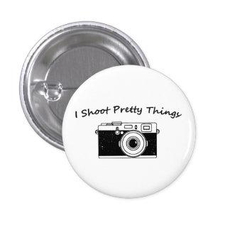 Tiro fotografía bonita de las cosas pin redondo de 1 pulgada