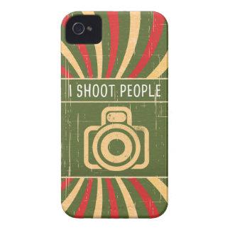 Tiro la cámara de la gente carcasa para iPhone 4