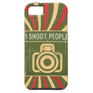 Tiro la cámara de la gente funda para iPhone SE/5/5s