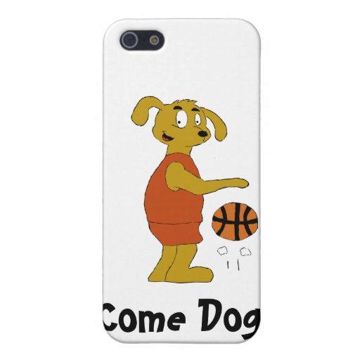 Tiro libre del tiroteo del perro del dibujo animad iPhone 5 cobertura