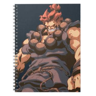 Tiro medio de Akuma Cuaderno
