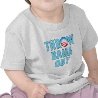 Tiro (O) Bama hacia fuera Camisetas