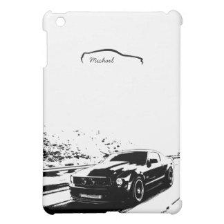 Tiro personalizado del balanceo del mustango iPad mini protectores