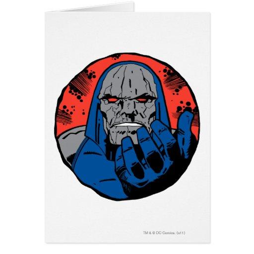 Tiro principal 2 de Darkseid Tarjeta De Felicitación