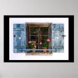 Tirol - finestra print