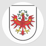 Tirol Wappen, Austria Classic Round Sticker