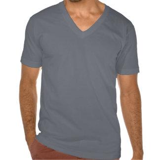 Tirón con cuello de pico de Peta de la camiseta