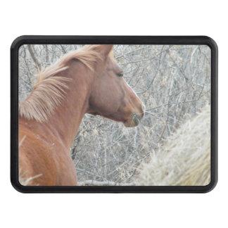Tirón de caballo tapas de tráiler